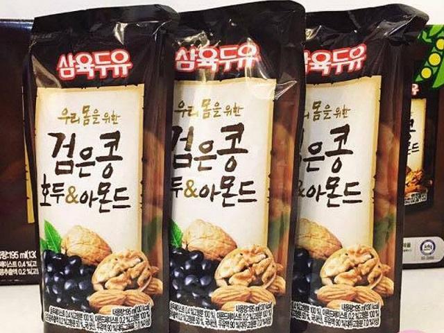 Sữa óc chó hạnh nhân có nguồn gốc từ Hàn Quốc