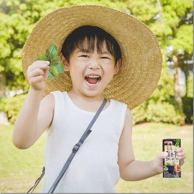 Trẻ em trên 1 tuổi có thể dùng sữa óc chó Hàn Quốc