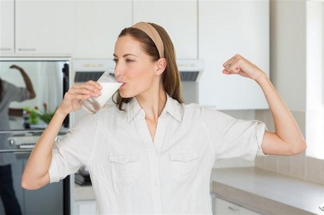 Sữa tăng cân là phương pháp tăng cân an toàn, lành mạnh