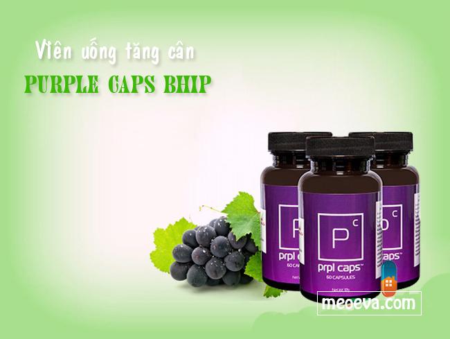 Thực phẩm chức năng tăng cân Purple caps