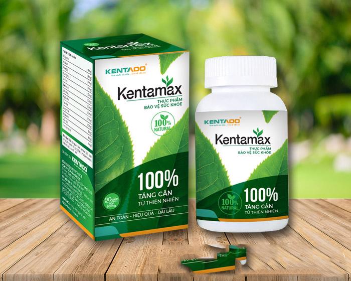 Thực phẩm chức năng tăng cân Kentamax