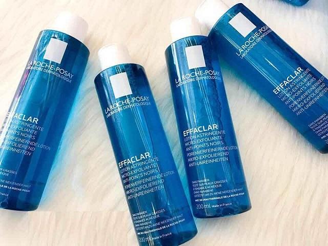 Toner La Roche Posay Effaclar Lotion Astringent cung cấp độ ẩm phù hợp cho làn da ngay sau khi sử dụng