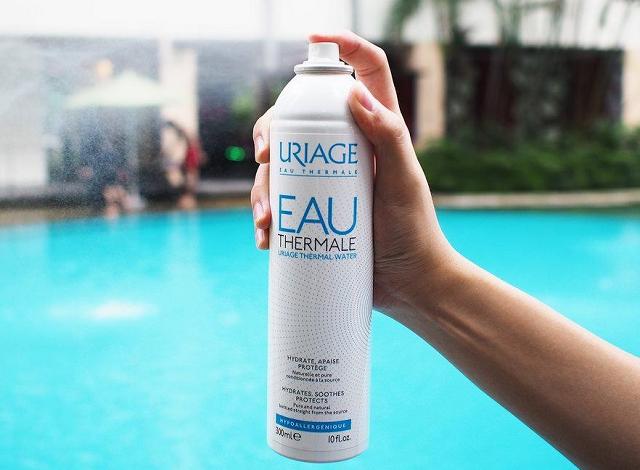 Xịt khoáng Uriage chứa nhiều thành phần tốt cho da, giúp chăm sóc da tối ưu nhất
