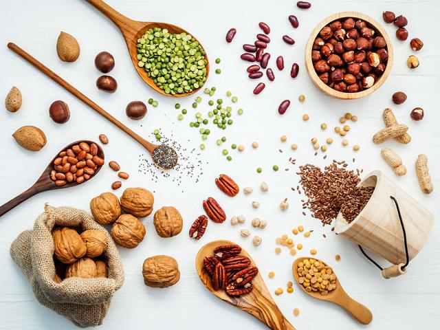 Ngũ cốc nguyên hạt chứa vitamin A rất cao