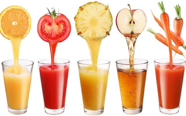 Nước ép trái cây rất tốt cho làn da
