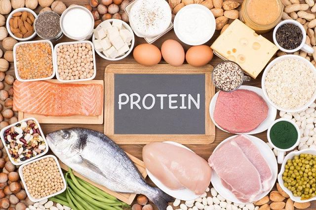 Tăng cân bằng cách ăn nhiều thực phẩm chứa nhiều protein
