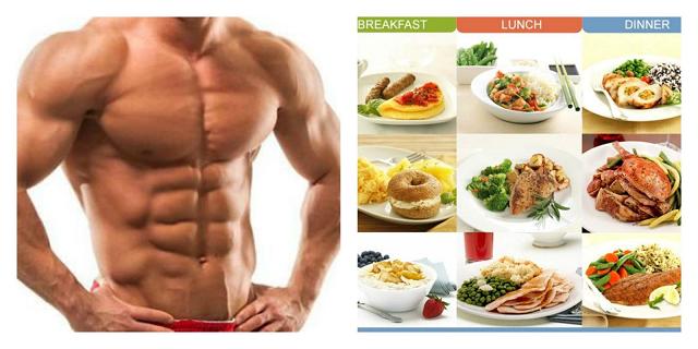 Tăng cân bằng cách ăn nhiều bữa.