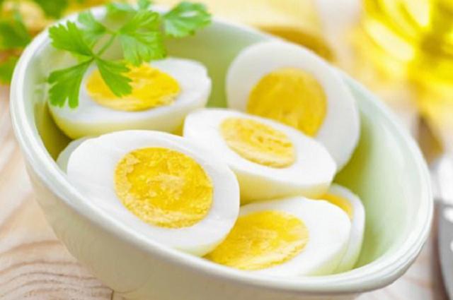 Tăng cân bằng trứng