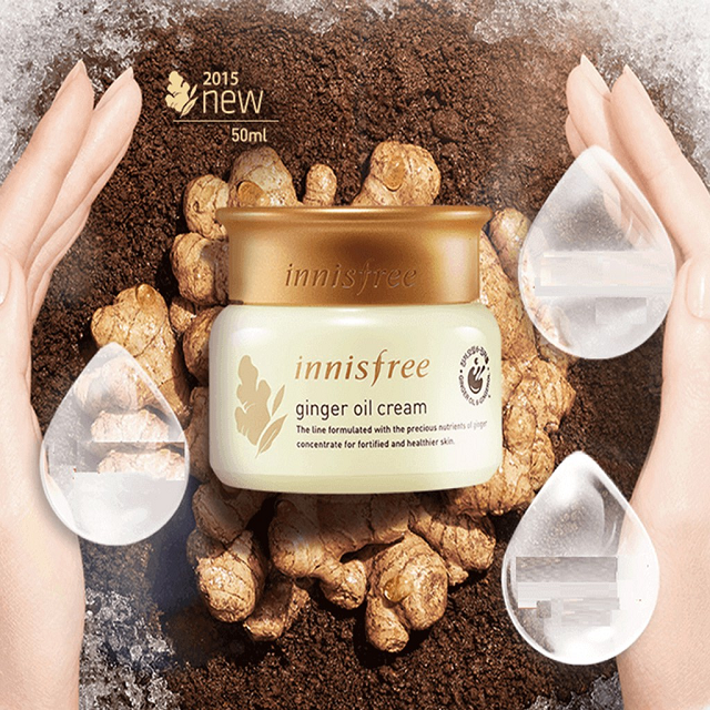 Kem dưỡng ẩm chống lão hóa Innisfree Ginger Oil Cream