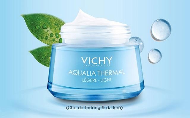 Vichy Aqualia Thermal Light Cream giúp bổ sung dưỡng chất và cấp ẩm hiệu quả cho da