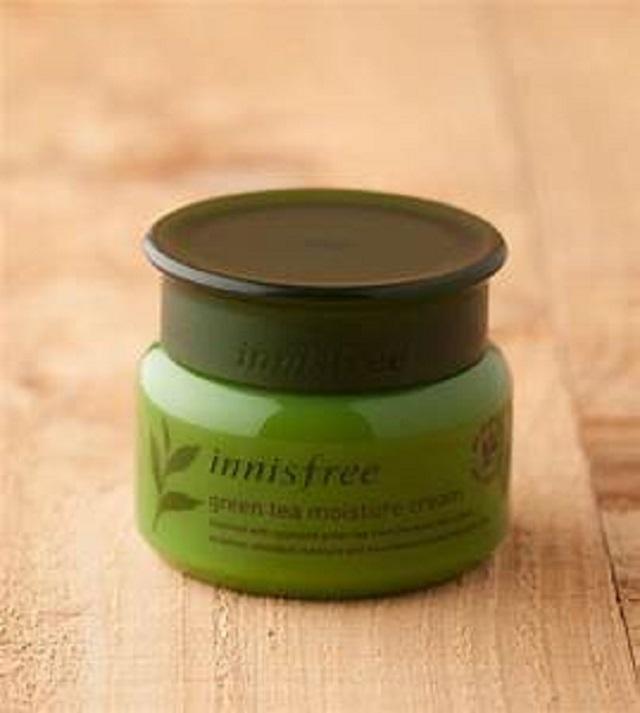 Kem dưỡng ẩm dành cho da nhạy cảm và da khô Innisfree Jeju Sparkling Moisture Cream