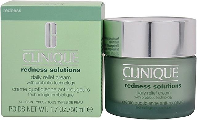 Clinique Redness Solutions Daily Relief Cream With Probiotic thích hợp với làn da nhạy cảm, dễ kích ứng