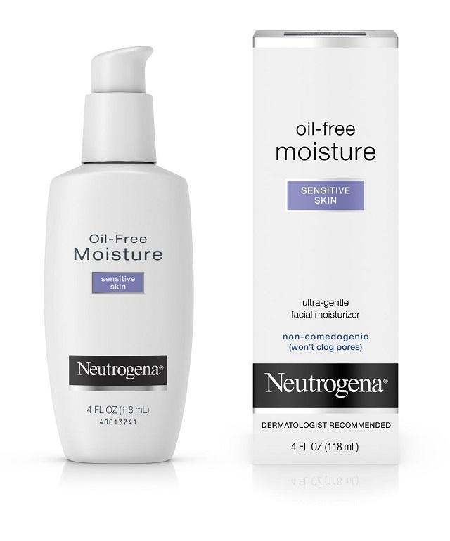 Kem dưỡng ẩm Neutrogena Oil Free Moisture Sensitive Skin cho da nhạy cảm