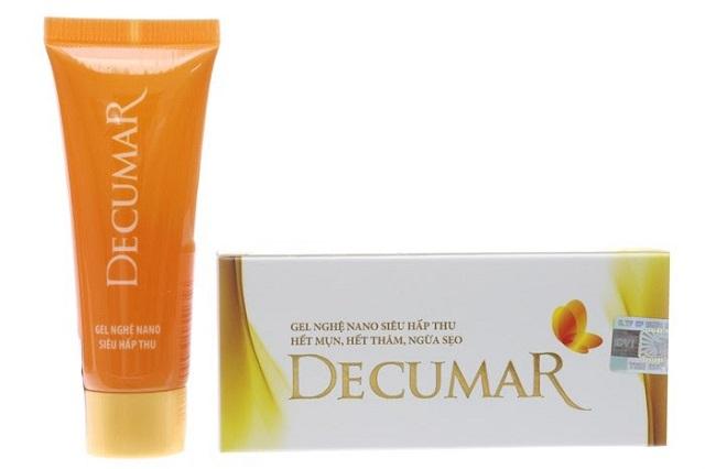 Decumar – Kem trị mụn cho da dầu