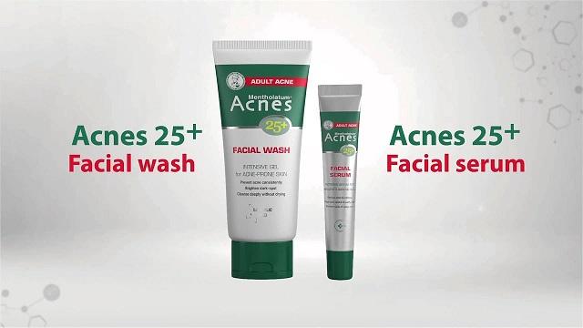 Trị mụn Acnes 25 + Facial Serum