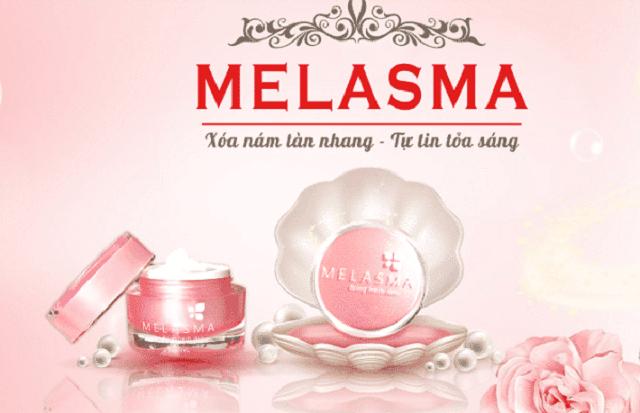 Kem trị nám Melasma với các thành phần hoàn toàn từ thiên nhiên