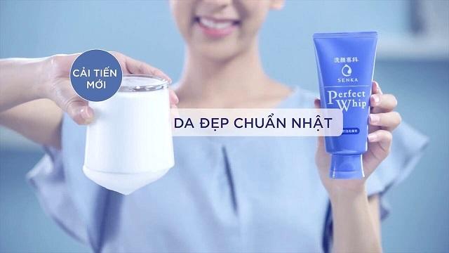 Sữa rửa mặt Senka Perfect Whip