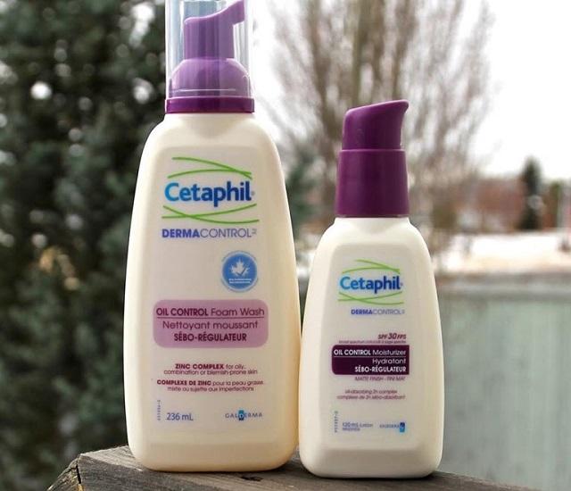 Sữa rửa mặt cho da dầu Cetaphil Dermacontrol Foam Wash