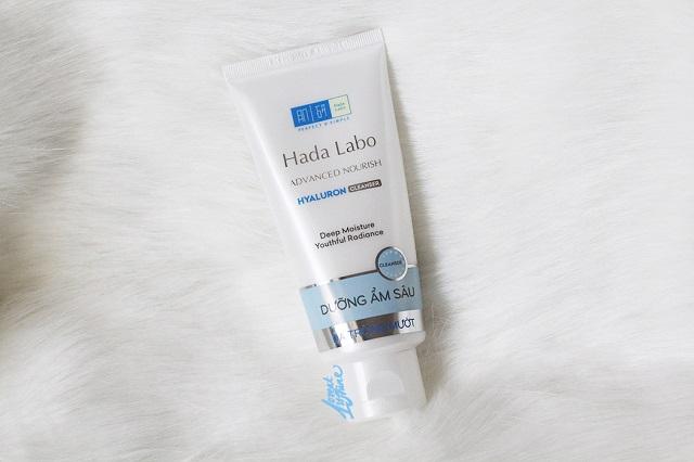 Sữa rửa mặt cho da dầu Hada Labo Advanced Nourish