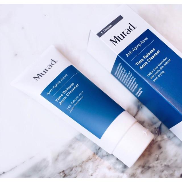 Sữa rửa mặt dành cho da mụn và da khô Murad Time Release Acne Cleanser