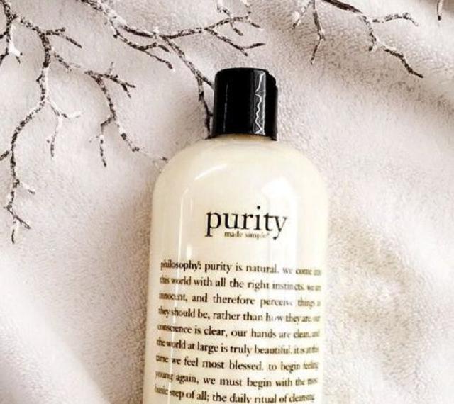 Sữa rửa mặt cho da nhạy cảm hai trong một Philosophy Purity Made Simple Cleanser