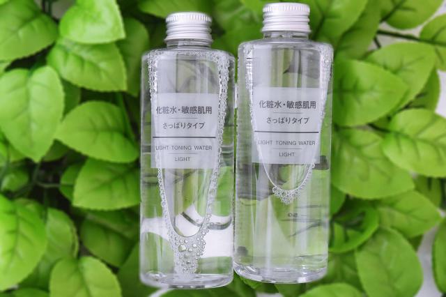 Toner Muji Light Toning Water vô cùng nhẹ dịu với cả những làn da khô nhạy cảm