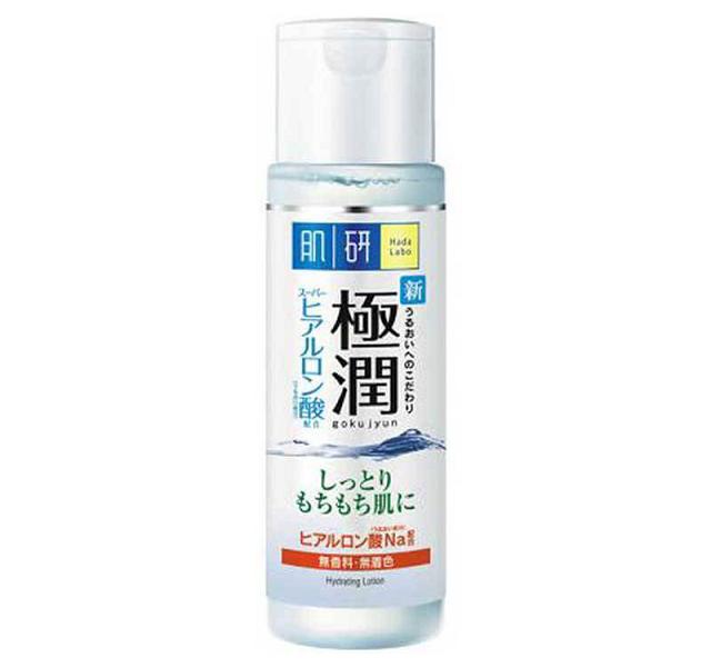 Hada Labo Gokujyun Super Hyaluronic Acid Hydrating Lotion có tác dụng làm sạch da và dưỡng ẩm tuyệt vời