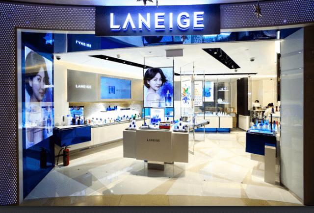 Thương hiệu mỹ phẩm Laneige thuộc tập đoàn Amorepacific Corporation