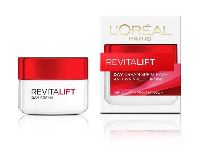 Kem chống lão hóa Loreal RevitaLift SPF23 PA++ dùng ban ngày