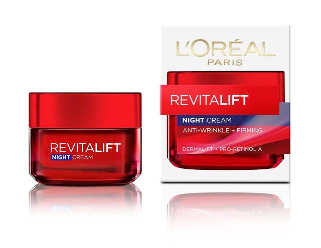 Kem chống lão hóa Loreal RevitaLift Night Cream dùng ban đêm