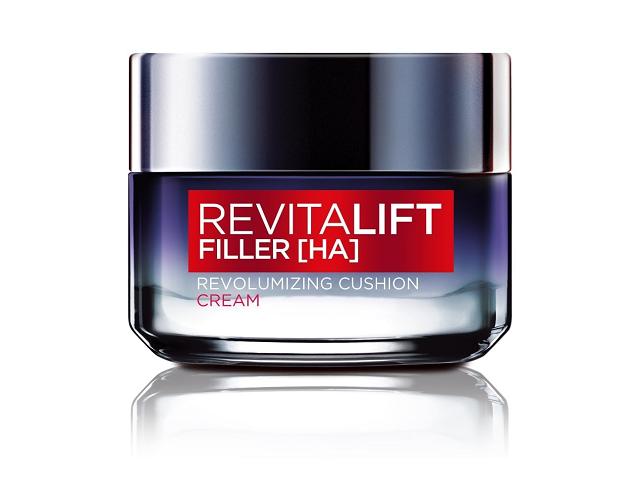 Kem dưỡng da giữ ẩm Loreal RevitaLift Filler HA Revolumizing Cushion Cream