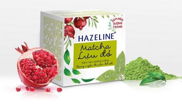 Kem dưỡng ẩm Hazeline matcha - lựu đỏ trắng rạng ngời