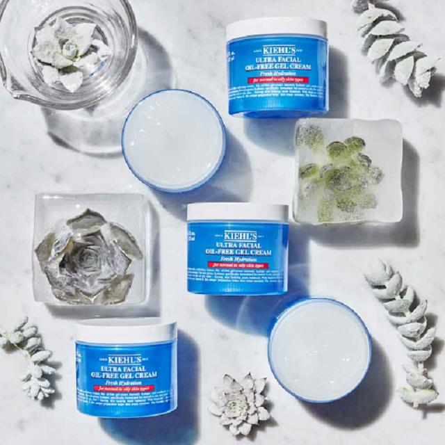 Kiehl's Ultra Facial Oil Free Gel Cream là dòng kem dưỡng ẩm tuyệt vời dành cho làn da dầu thiếu nước