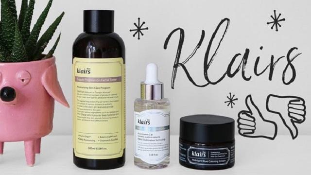Klairs là một thương hiệu mỹ phẩm và chăm sóc da đến từ Hàn Quốc.