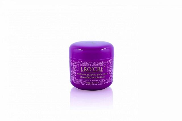 Lro'cre Whitening Renewal Body Cream có khả năng cung cấp độ ẩm, trung hòa độ pH trên da hiệu quả.