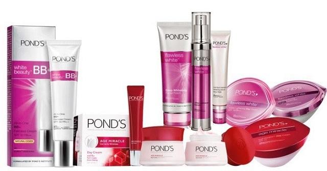 Pond's là thương hiệu mỹ phẩm có chất lượng tốt và giá thành hợp lý