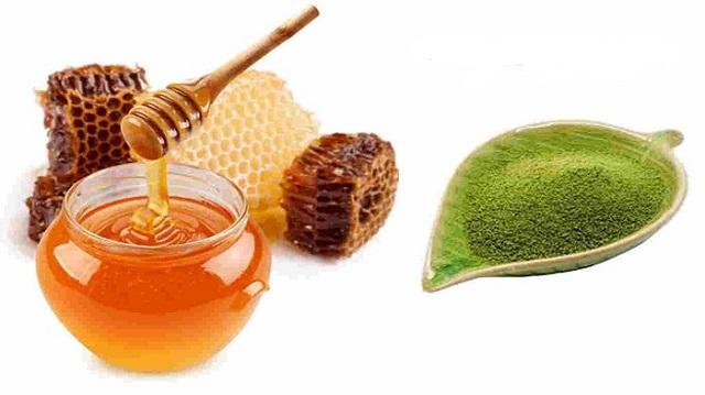 Mặt nạ trị nám và tàn nhang từ trà xanh và mật ong