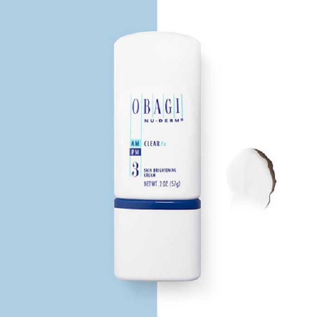 Hydroquinone 4% (có trong Obagi Nu-Derm Clear số 3) được FDA công nhận là hoạt chất duy nhất an toàn với da và mang lại hiệu quả trị nám một cách tối đa