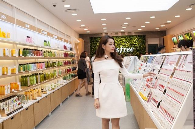 Innisfree đã có showroom, cửa hàng chính thức tại Việt Nam.