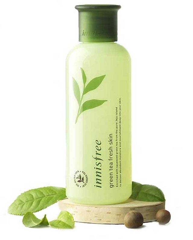 Toner cho da dầu Innisfree Green Tea Fresh Skin