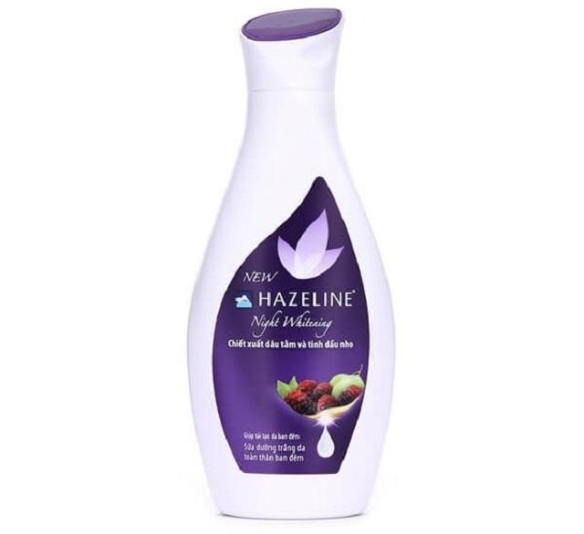 Kem dưỡng thể hazeline