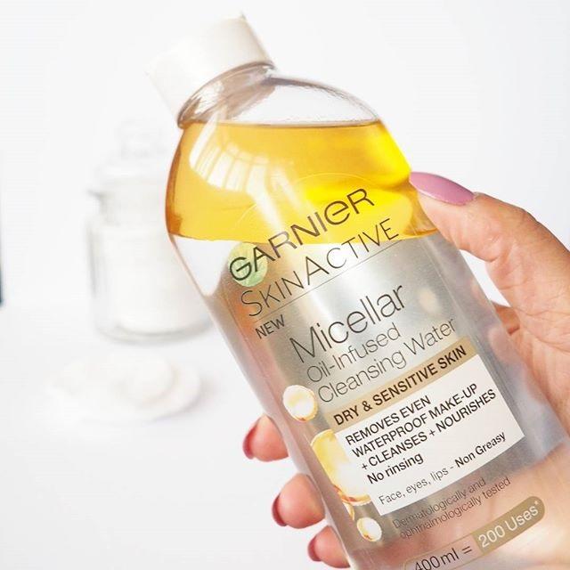 Nước tẩy trang garnier