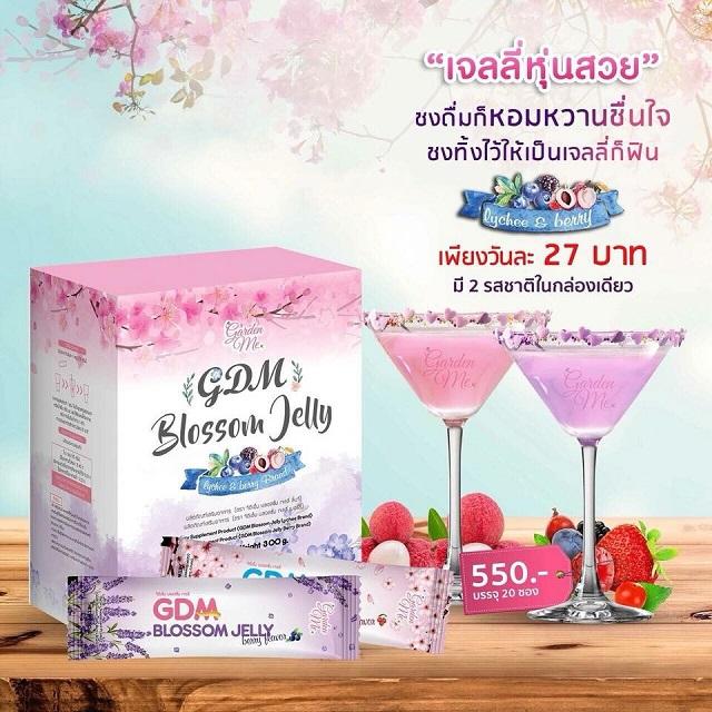 Thạch giảm cân Blossom Jelly dạng bột pha